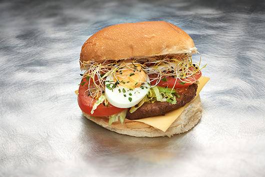 hamburger broodje
